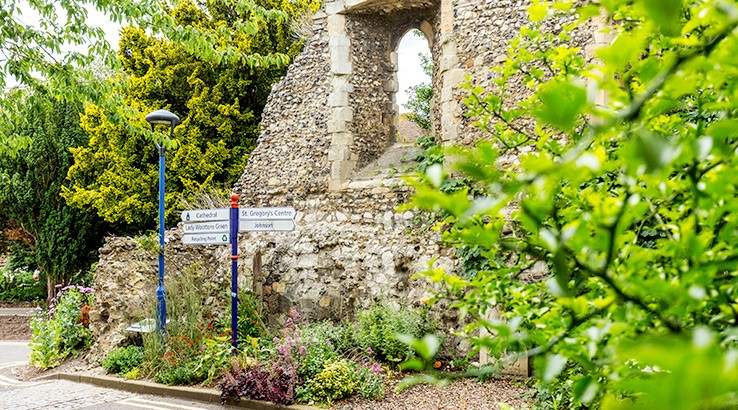 Heritage & History Series: Did you know our Canterbury Campus is a World Heritage Site?