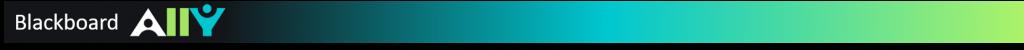 Blackboard Ally banner