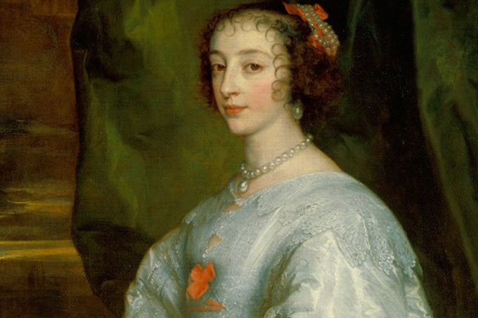 Considering the female presence in Charles I exhibition