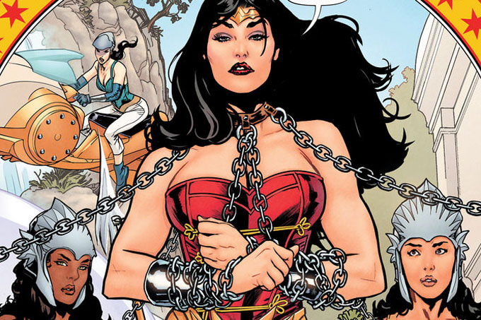 """Fate left me off at the UN building – I wonder why?""  Wonder Woman & the UN"
