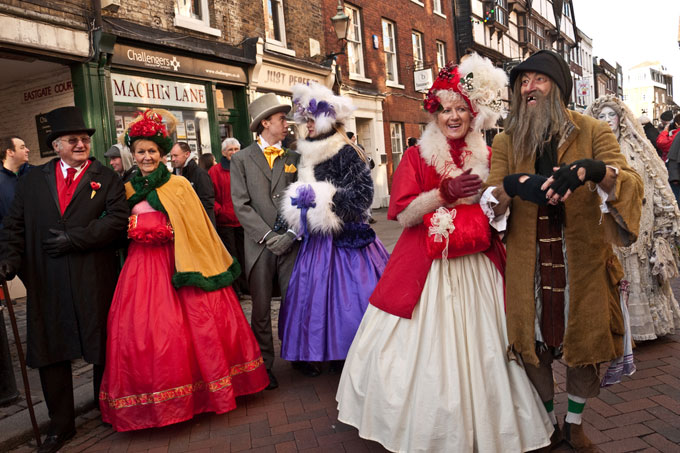 Dickens' and Kent, did Scrooge visit the county?
