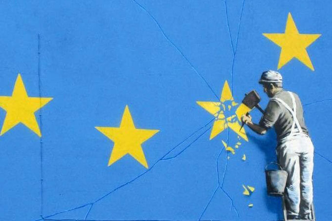 Banksy, Brexit and the star of Dover