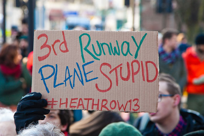 Shifting ground at Heathrow airport