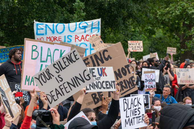 Black Lives Matter, toppling statues and anti-racism: joining the dots