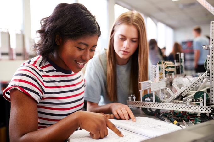 Securing access to STEM subjects for students