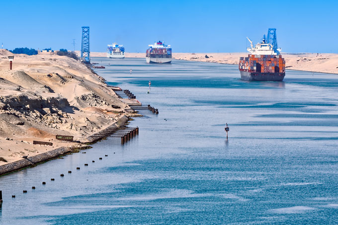Crisis in the Suez: the Ever Given ship.  How might it impact us?