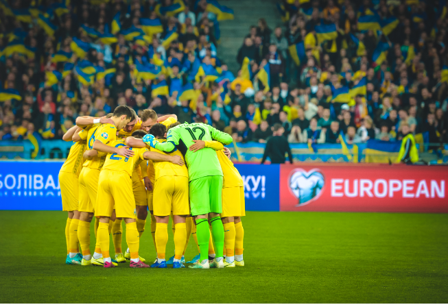 It's only a game? Maps, identity and Ukraine's new football shirt
