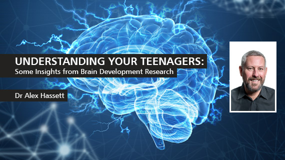 Public Talk, Thurs 17th May: Understanding Your Teenagers