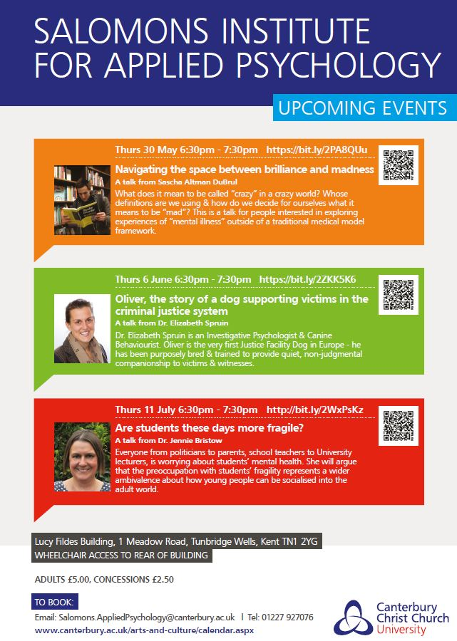 New programme of public lectures announced