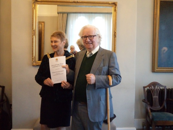 Attracting youngsters to history and Hayes Award winner