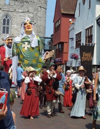 Medievalists at Leeds, Faversham and Canterbury