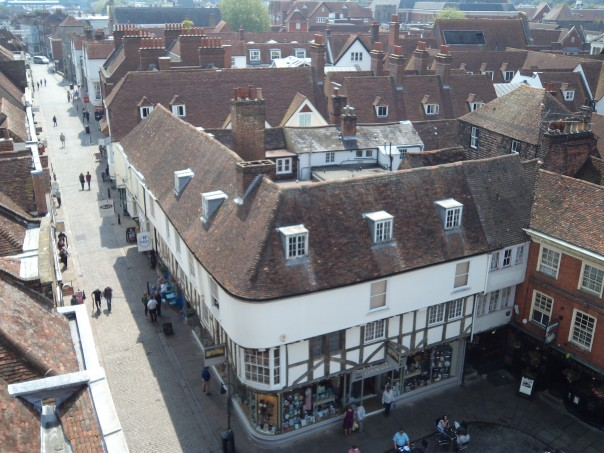 Exploring place and space in Faversham and Canterbury
