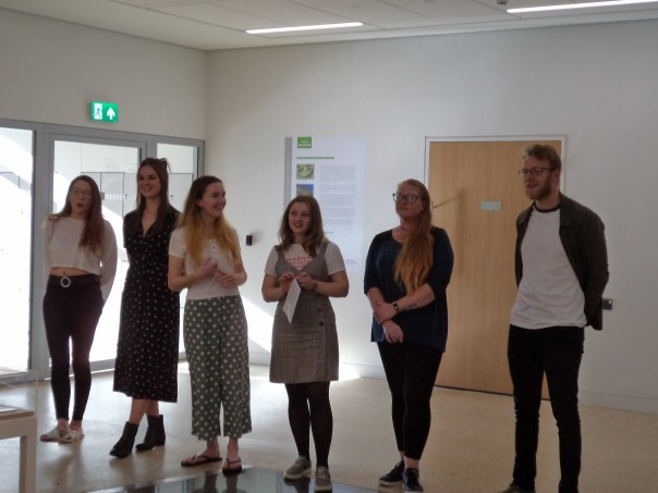 Celebrating Canterbury history exhibition by CCCU Masters students