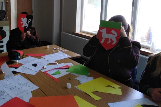 Shields at the Ready! The Dering Roll and Medieval Education Day