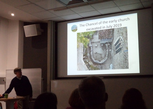 Linking Canterbury and Lyminge through Anglo-Saxon saints