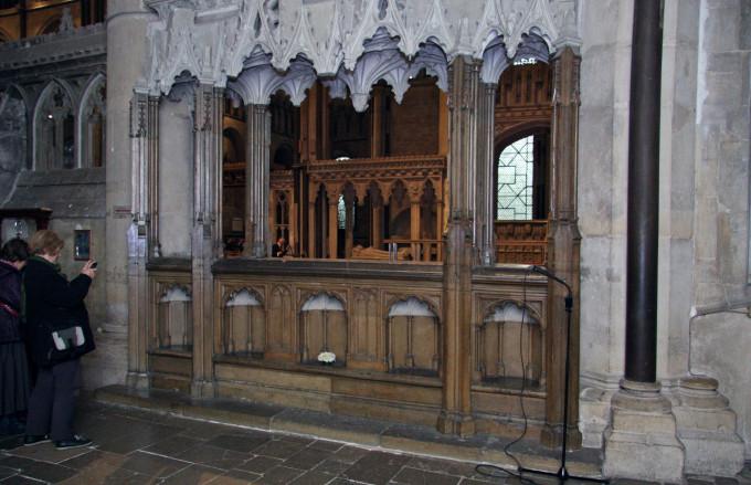 Exploring remembrance at Canterbury