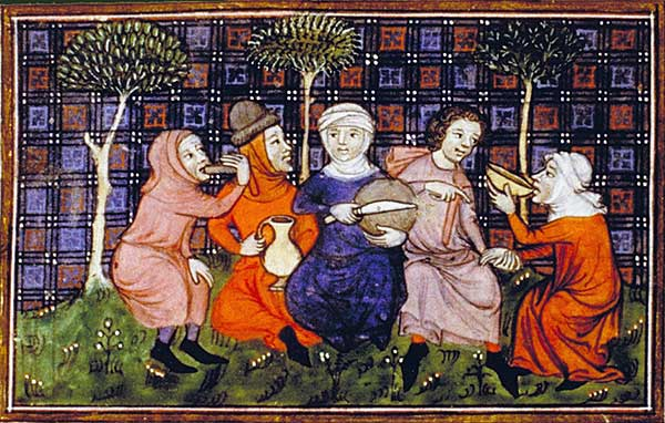 Kent History Postgraduates and food in the Middle Ages