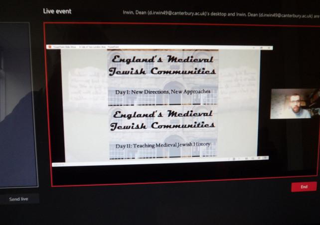 Medieval Jews and the Kent History Postgraduates