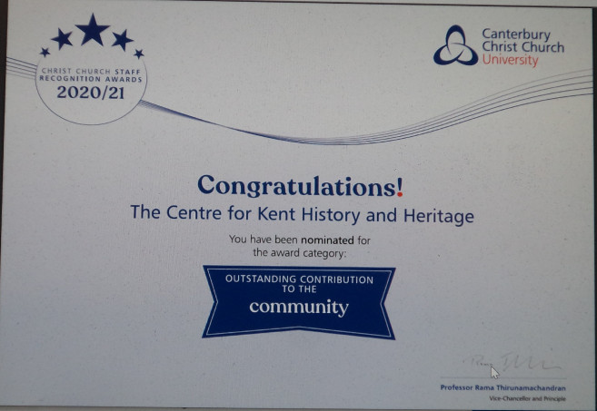 Canterbury churches and other partners - working together for the community