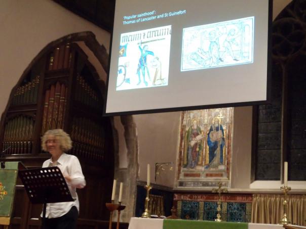 Kentish Saints and Medieval Animals - a saintly greyhound