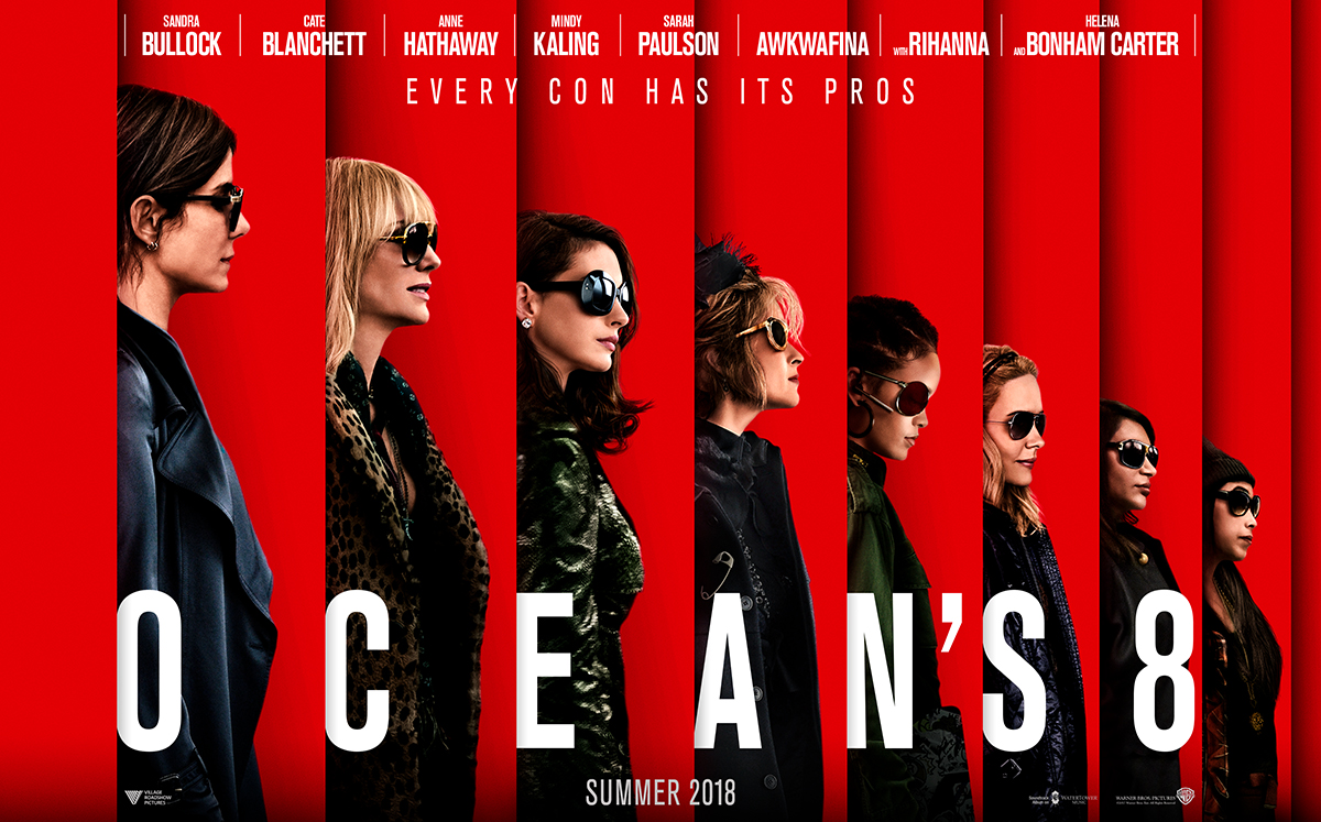 James Newton on Ocean's 8
