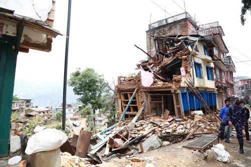 The Mw 7.8 Earthquake, Central Nepal