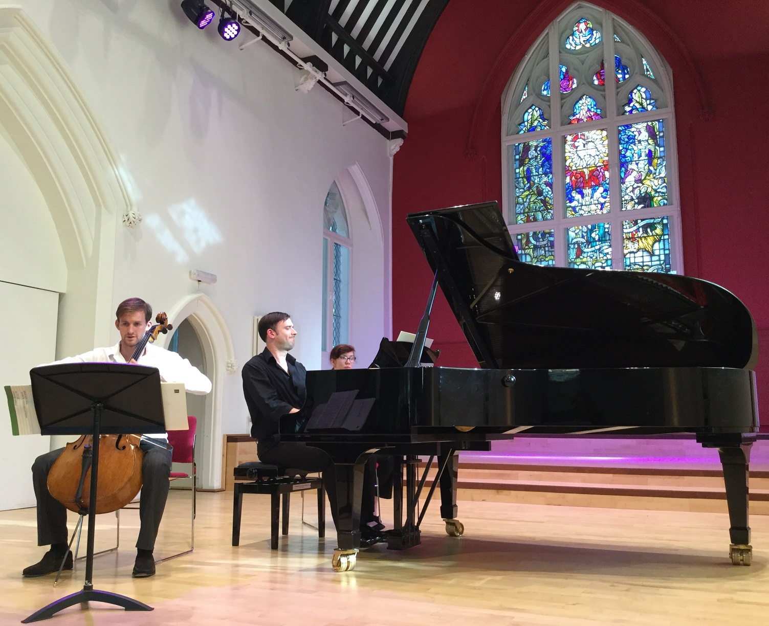 Lunch Time Concert and Masterclass – Matthew Lowe and John Paul Ekins