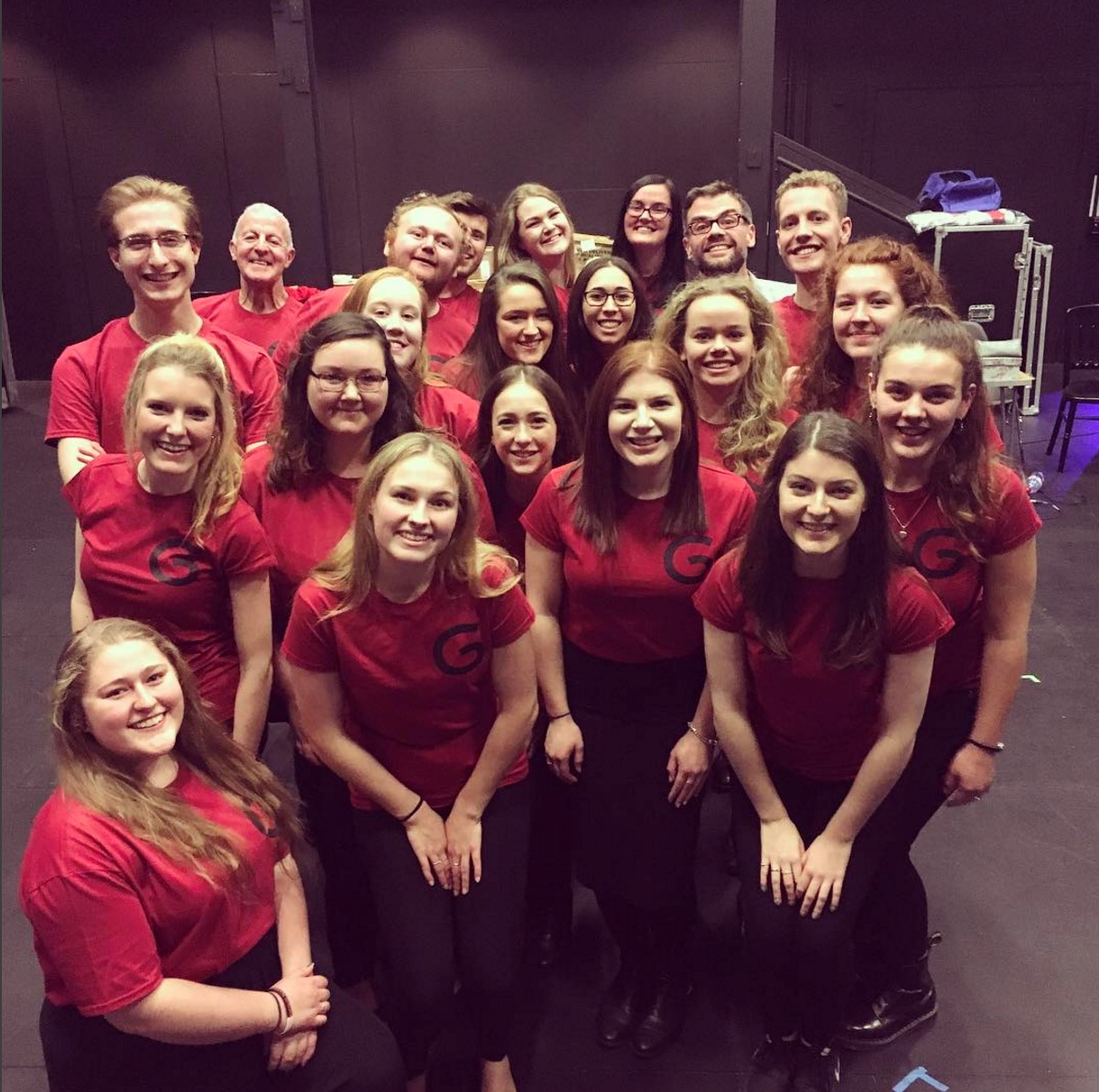 Behind the Curtain with the University Chamber Choir