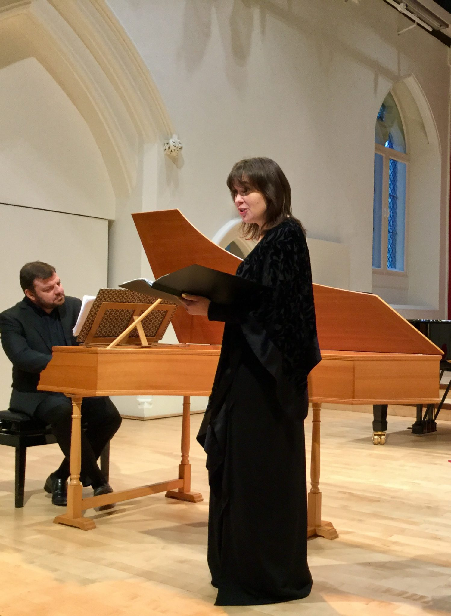 Lunch Time Performance and Masterclass – Kate Semmens (soprano) Steven Devine (keyboard)