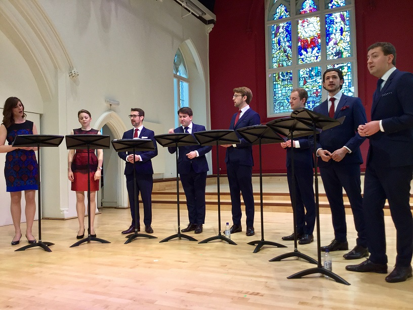 Lunch Time Performance and Masterclass – VOCES8