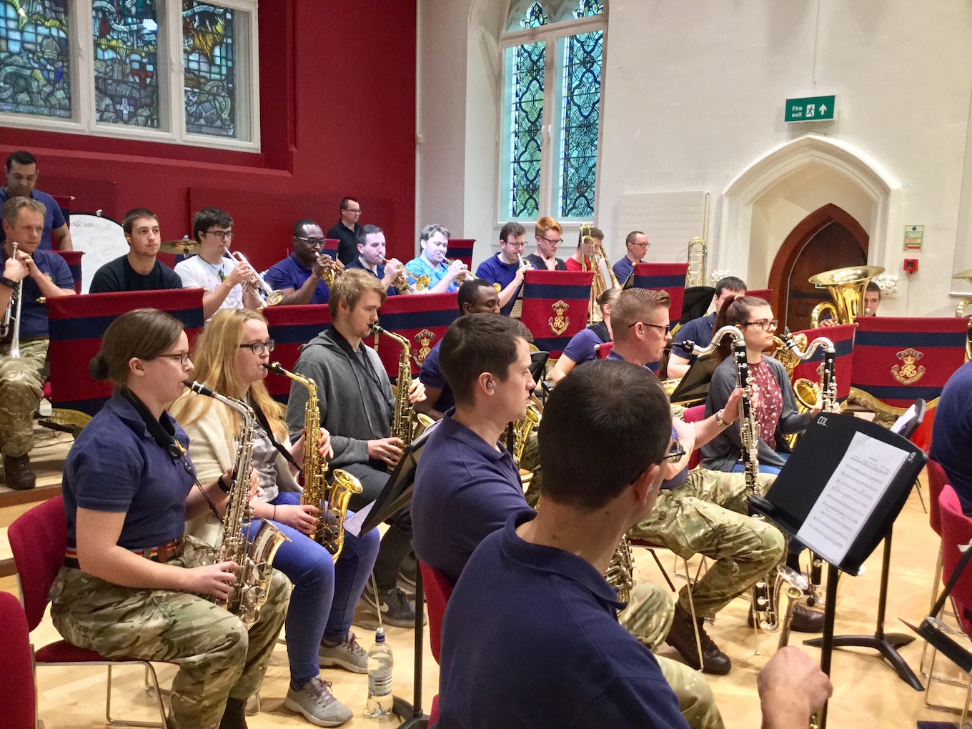 Callum Foad Column: Band of the Corps of Royal Engineers