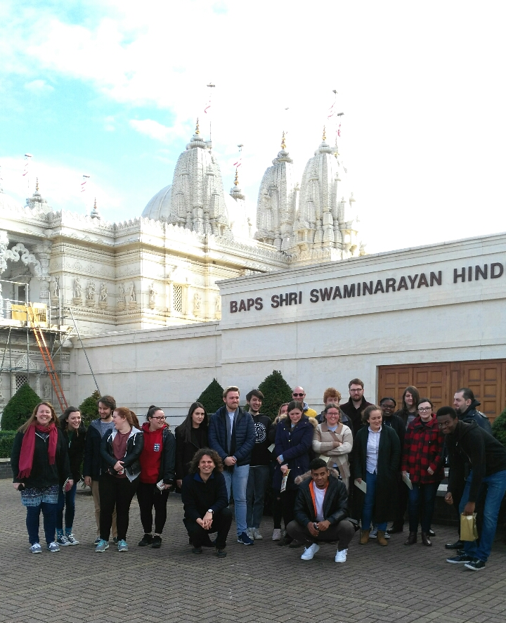 Study trip to Hindu temple