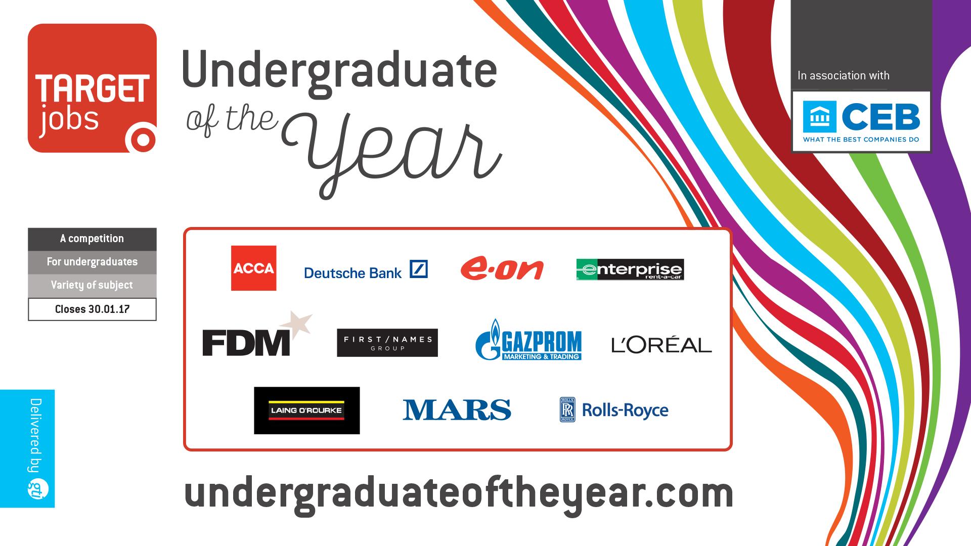 TARGETjobs Undergraduate of the Year