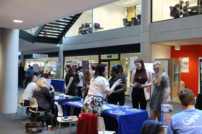 Networking at Careers Events