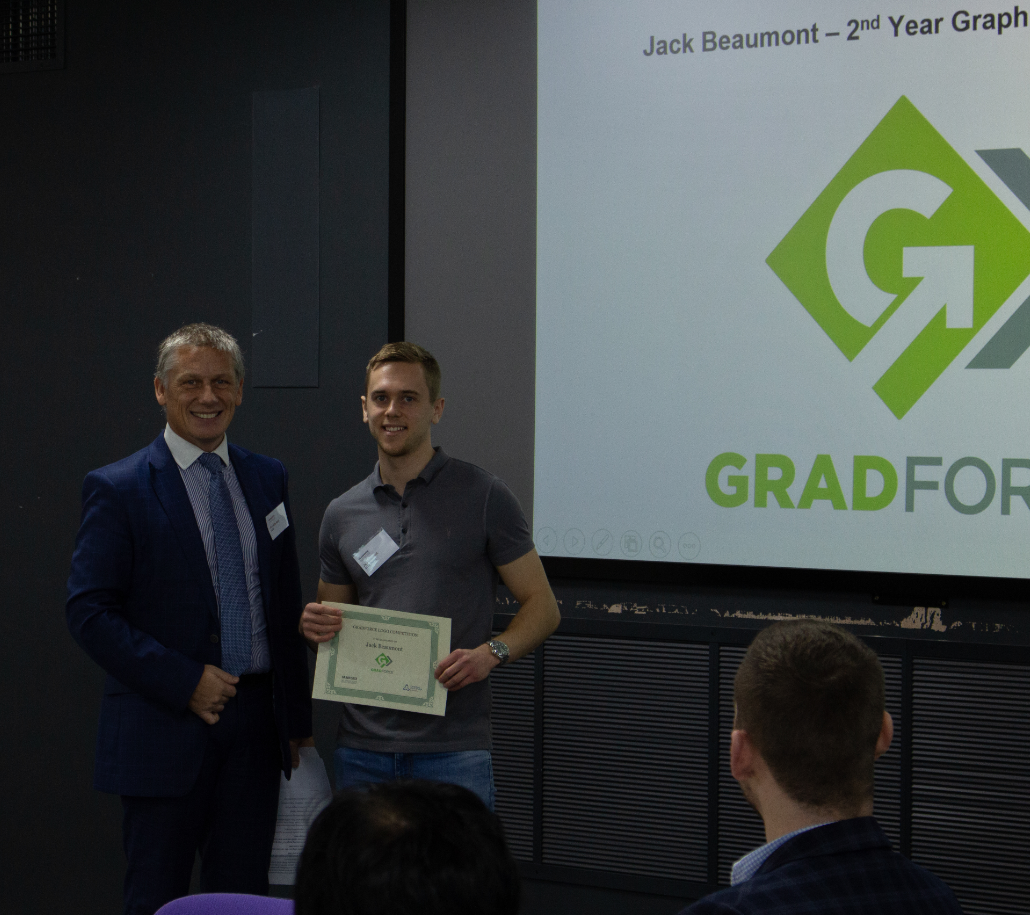 A GradForce Networking Christmas