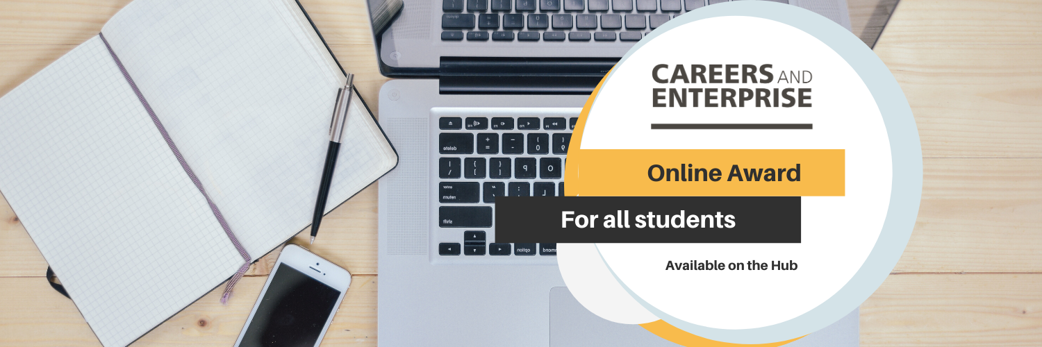 The Careers and Enterprise Online Award – Amazon Vouchers for the first 50 students who complete our exciting online award!