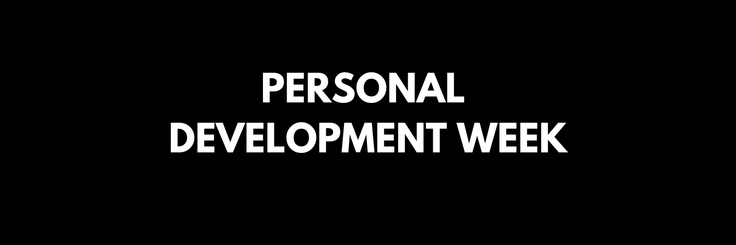 Personal Development - how we can help you this PDW