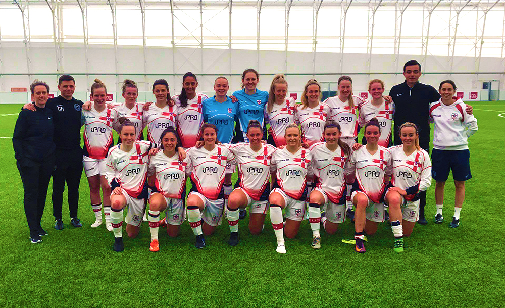 English Universities Women's Football Home Nations Tournament