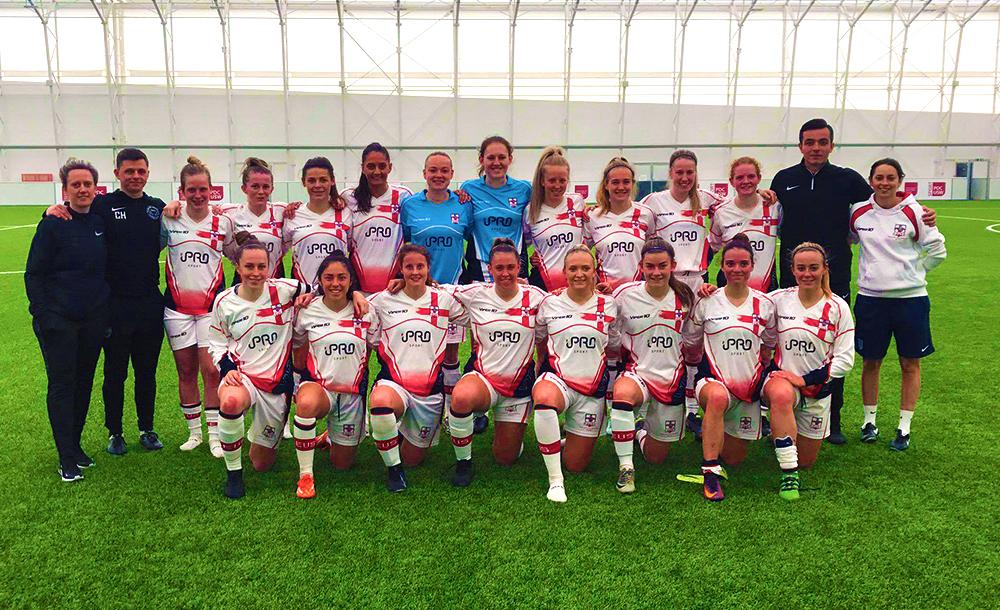 English Universities Women's Football Home Nations Tournament