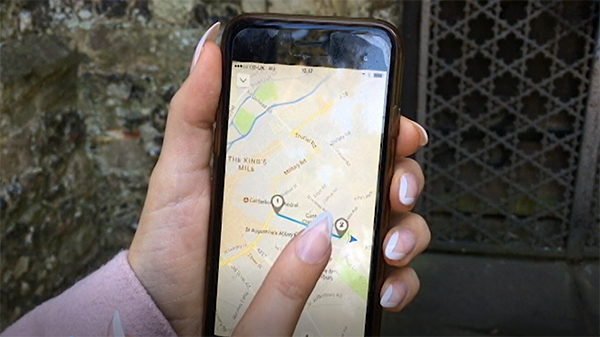 Geolocations: Experiential learning via mobile devices