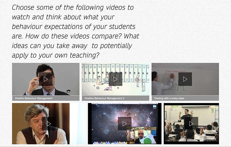 SWAY: Versatile content to enhance teaching and learning