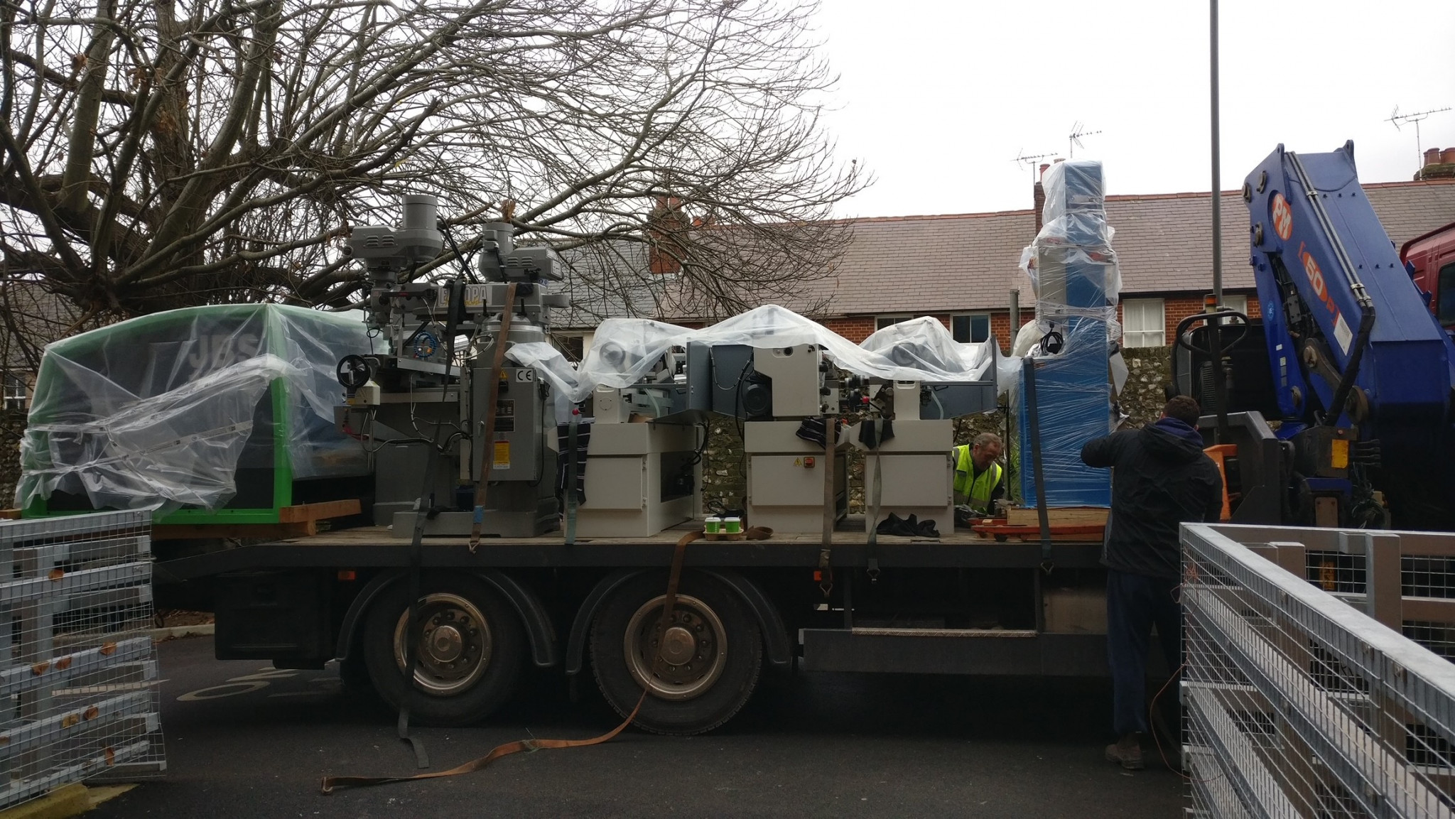 New Equipment Arrives in Building 2