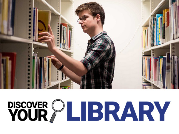 Discover Your Library: Find your resources