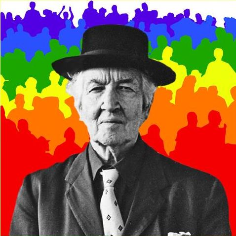 LGBT History Month 2019 faces - Robert Graves