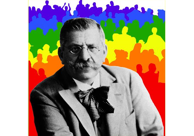 LGBT History Month 2019 Faces - Magnus Hirschfeld and the first LGBT+ film