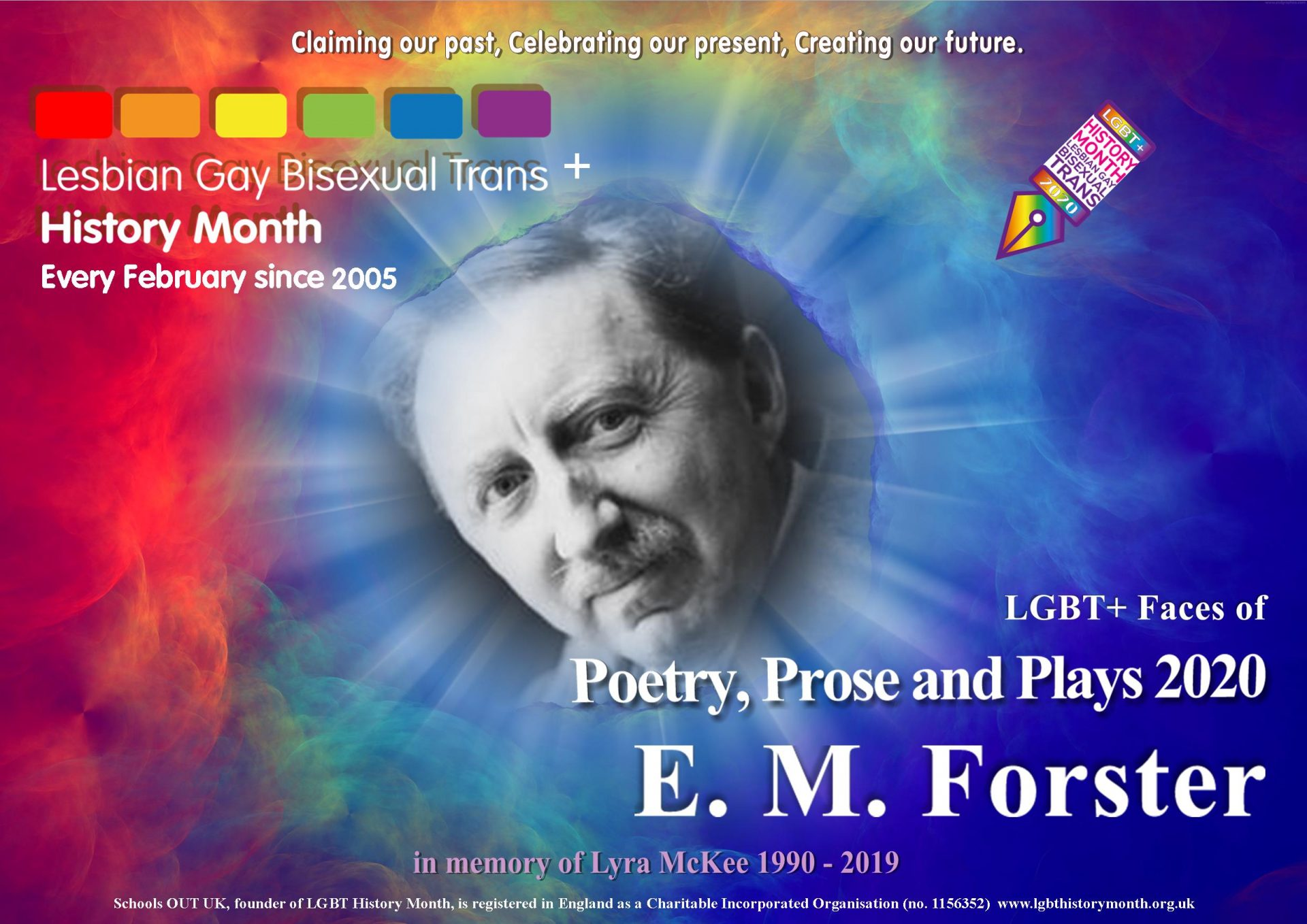 LGBT+ History Month 2020: E.M. Forster and Sarah Waters