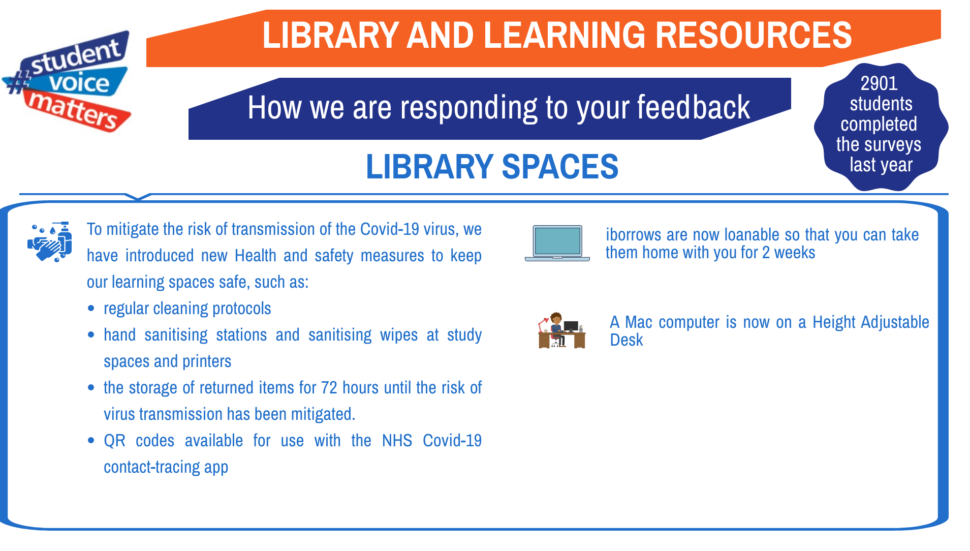 Improving your library... in an unprecedented year - Part 2: library spaces