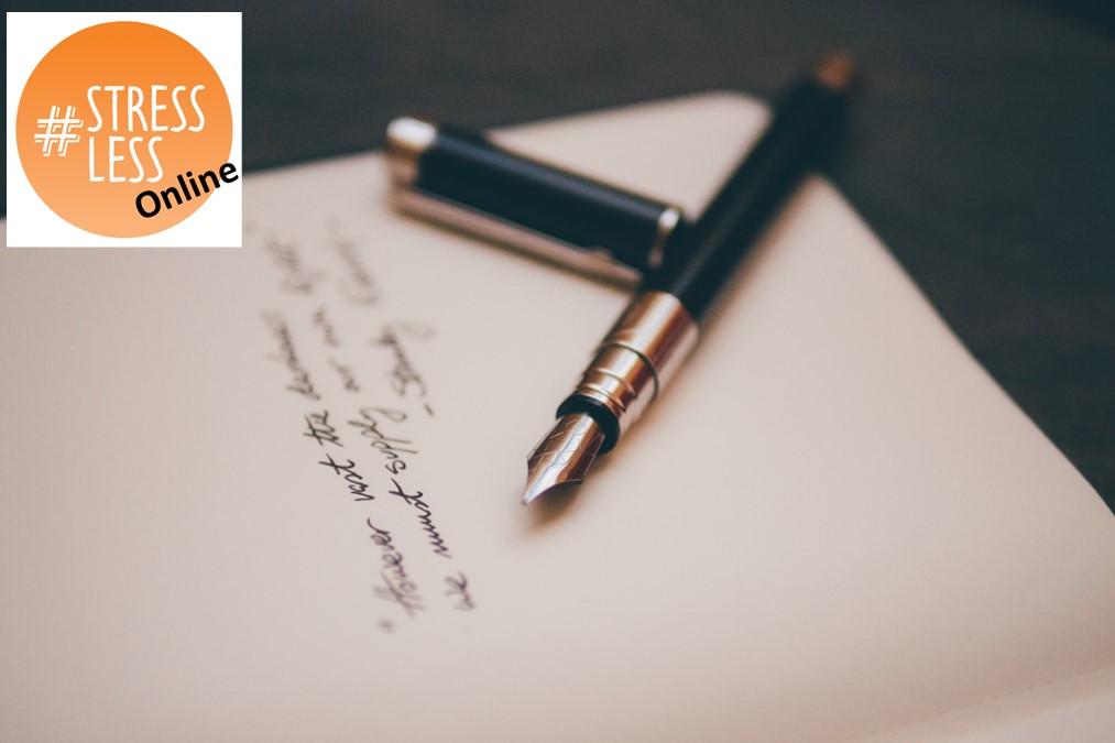 Poetry helps me de-stress by guest blogger - Nina Vallard