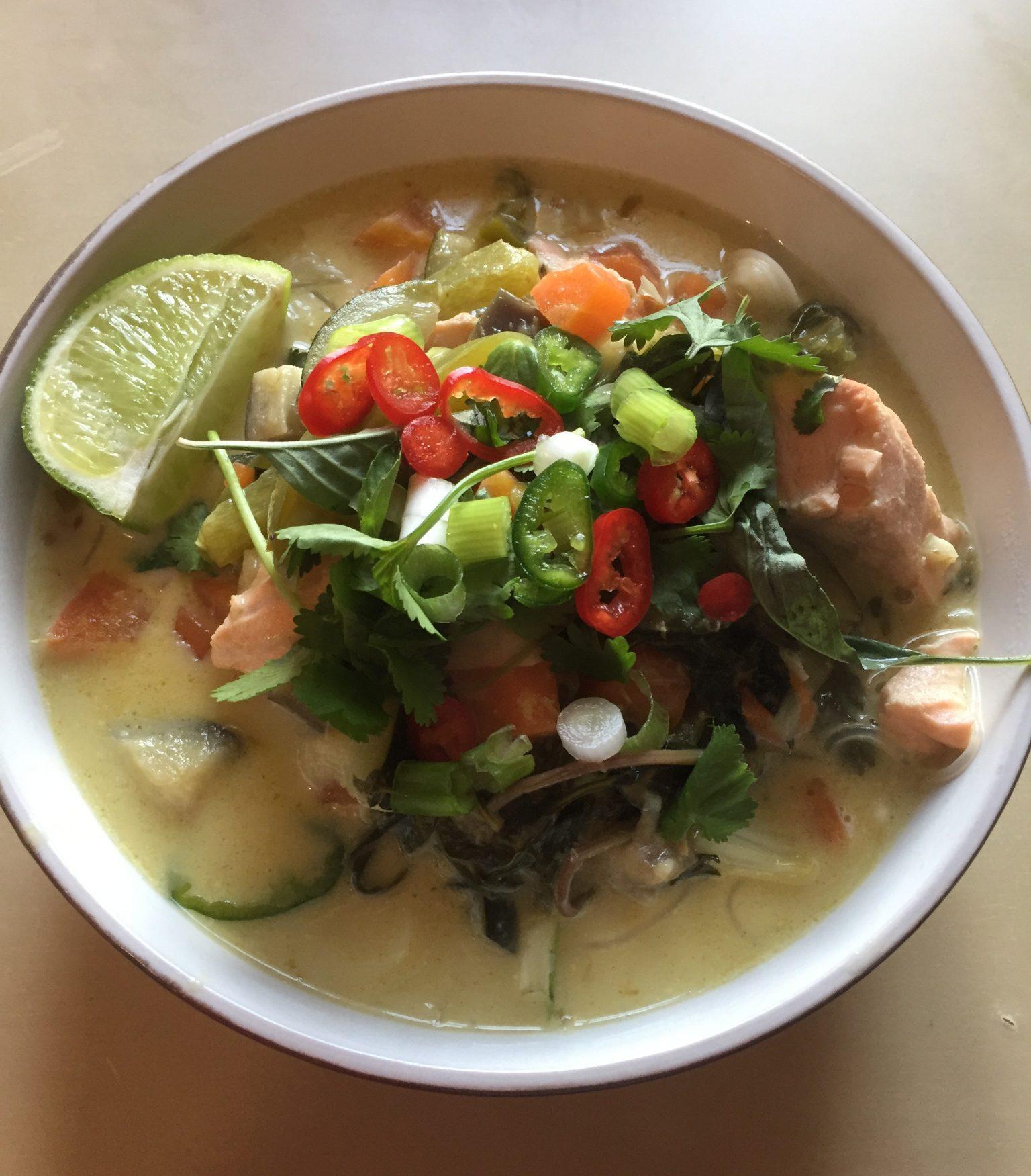 #Livingwell | Thai Noodle soup
